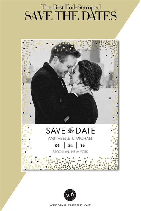 Discover Premium Wedding Invitations And Save The Date Cards On A Budget With Wedding Paper Save The Date Anniversary Templates