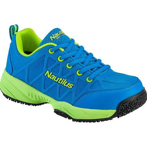 slip resistant athletic shoes nautilus s composite toe slip resistant athletic shoe