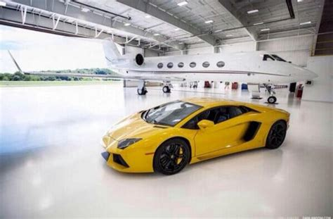 Lamborghini And Jet The Rich The Rich Life