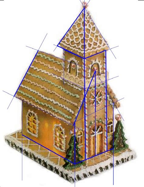gingerbread house pattern gingerbread church pattern sos tutorial decor