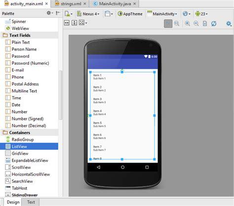 cara membuat video tulisan dari android cara membuat listview menggunakan android studio teknojurnal