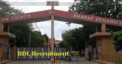 Wd Mba Careers by Bdl Recruitment 2017 2018 50 Manager Mt Bdl India