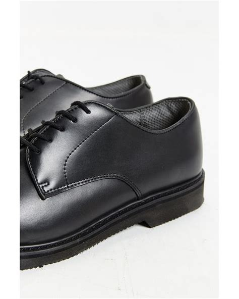 rothco oxford shoes rothco soft sole oxford shoe in black for