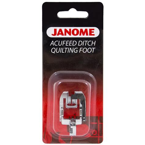 Ditch Quilting Foot by Janome Acufeed Ditch Quilting Foot