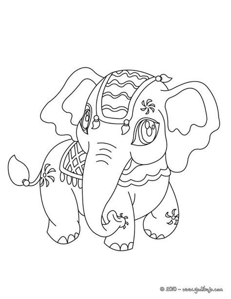 war elephant coloring pages dibujos para colorear elefante de india es hellokids com