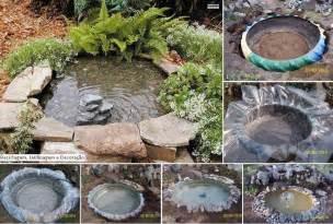 diy patio pond diy garden tractor tire pond