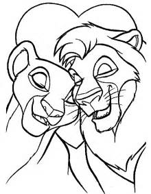 Lion King Coloring Book Coloring Home