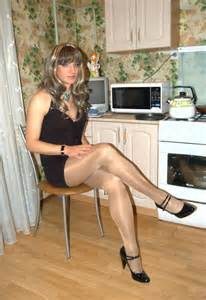 haired crosdresser sissy crossdressers legs and stockings on pinterest