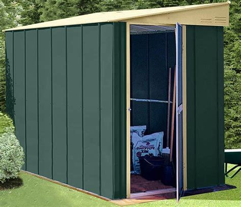 shed baron grandale lean  metal shed  shed