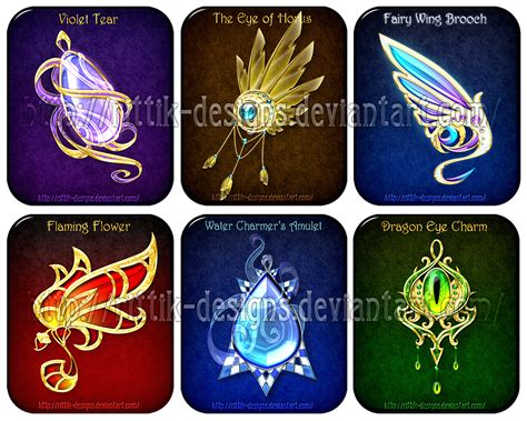 Magic Giveaways - magic items adopts 6 closed by rittik designs on deviantart