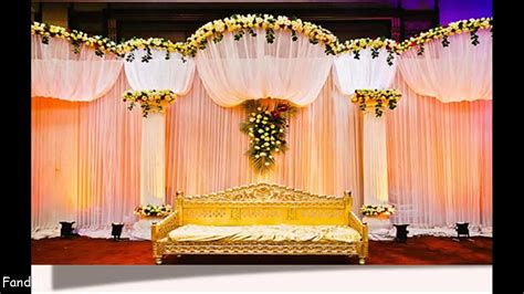 indian wedding stage decoration youtube