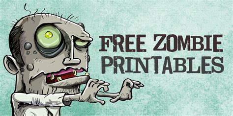 printable zombie labels free printable zombies party favor labels cupcake
