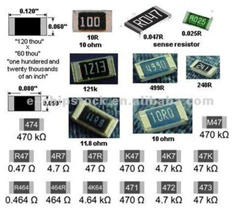 resistor smd como testar fazer eletr 244 nica resistores smd