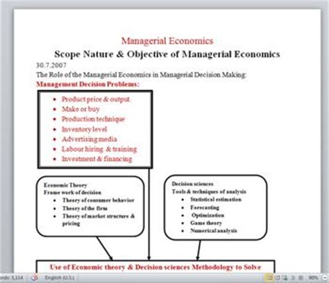 Managerial Economics For Mba Students by Uofk Mba 2012 Displaying Items By Tag Course