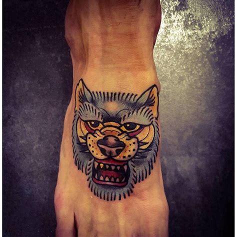 tattoo old school lobo 70 tatuagens de lobo impressionantes melhores fotos