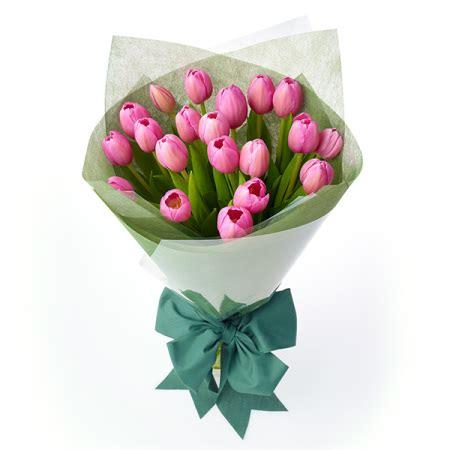 Buket Bunga Artificial Kado Wedding Wisuda adorable tulips toko bunga florist parcel