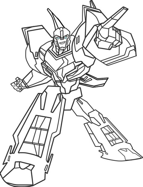 coloring pages transformers robots in disguise transformers robots in disguise 2015 bumblebee by srgduck