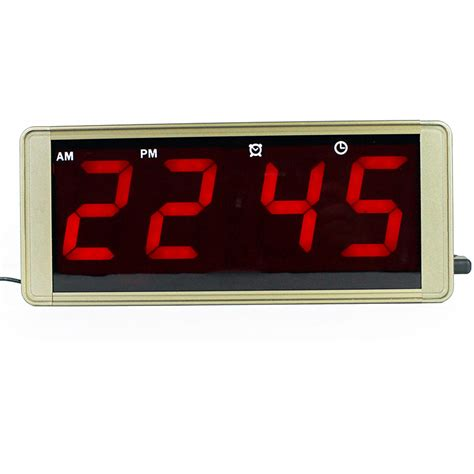 buy digital clock aliexpress com buy large led screen digital wall clock