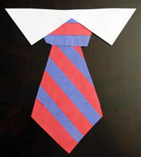 How To Make A Tie Out Of Paper - s day crafts for