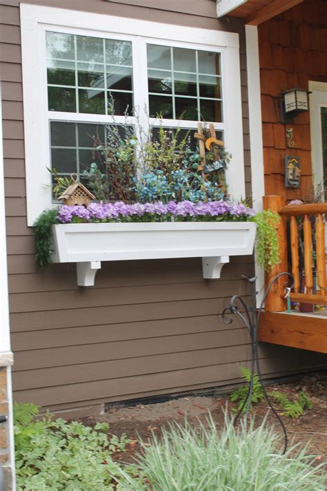 Planter Window Box by Remodelaholic How To Build A Window Box Planter In 5 Steps