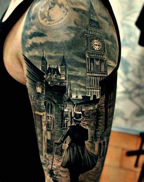 Tattoo London How Much | foggy london town ink pinterest