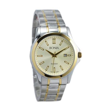 Jam Tangan Bonia Gold jual bonia rosso jam tangan pria silver gold bnb10098