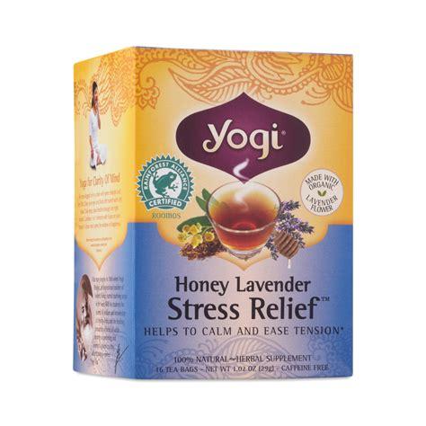 Honey Lavender Stress Relief Yogi During Detox by Honey Lavender Stress Relief Tea By Yogi Tea Thrive Market