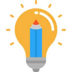 invention seo and web idea electricity illumination technology light bulb icon