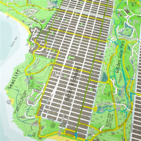 san francisco map paper san francisco map version 1 paper the future