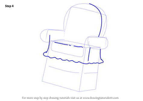 How To Draw A Armchair Learn How To Draw Arm Chair Monster From Uncle Grandpa