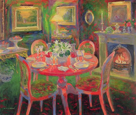 dining room painting  william ireland
