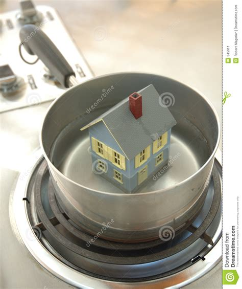 no hot water in house house in hot water stock image image 345911