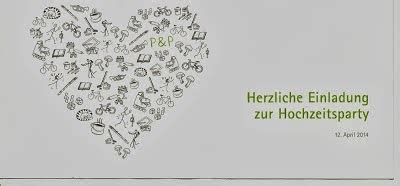 Einladung Zur Hochzeitsparty by Pouseblogger Dezember 2013