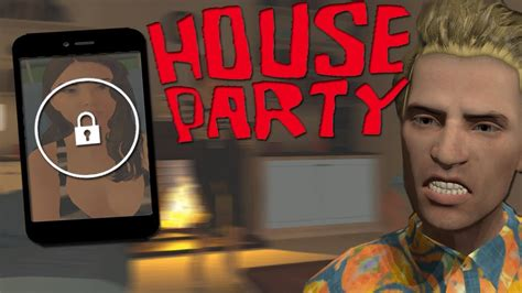 house party game house party trying to unlock her phone perfect