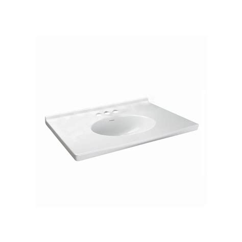 American Standard Vanity Tops by American Standard 7820 800 020 White Portsmouth Vanity Top