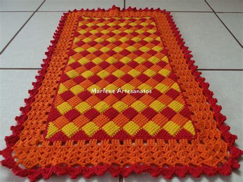 tapetes de croche b43964 tapetes de crochaa pictures to pin on croche tunisiano tapete como fazer croche art br