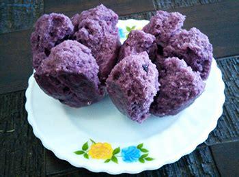 cara pembuatan nasi uduk ungu resep bolu ubi praktis sederhana bahan bahan cara