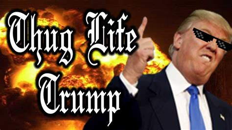 biography of donald trump youtube thug life donald trump deluxe youtube
