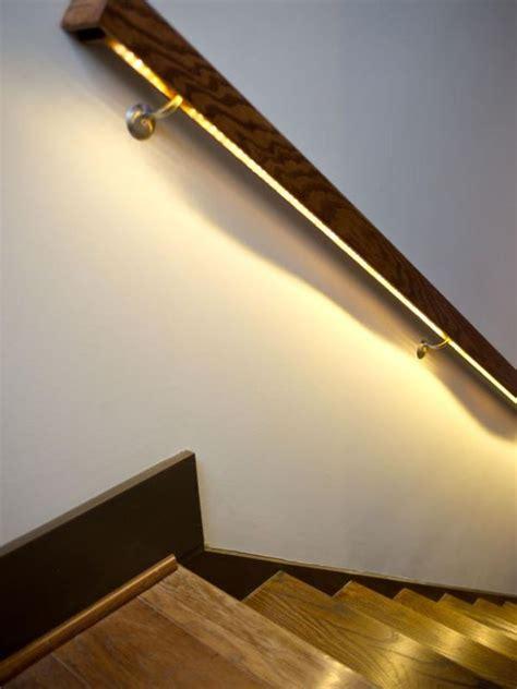 modern lighting ideas  turn  staircase