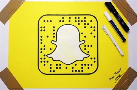 how to doodle in snapchat how to draw snapchat logo fan drawing