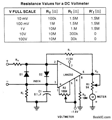 voltmeter in circuit diagram og dc voltmeter circuit diagram wiring diagram