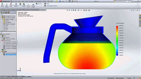 solidworks tutorial heat transfer thermodynamic and heat transfer help using solidworks