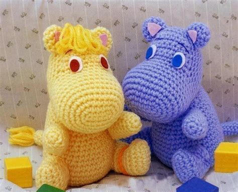 free pattern amigurumi animals amigurumi hippo moomin muumi mumin snufkin crochet by getfun