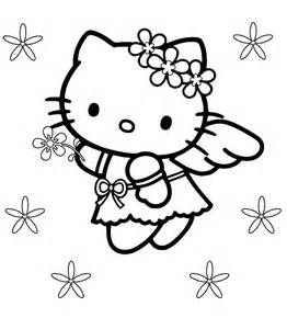 kitty pictures kitty coloring pages