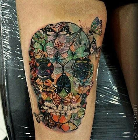 tattoo butterfly and skull butterfly skull tattoo tattoo love pinterest