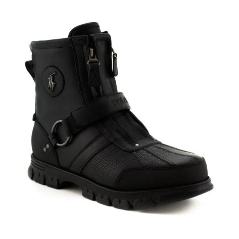 shop for mens conquest 3 boot by polo ralph in