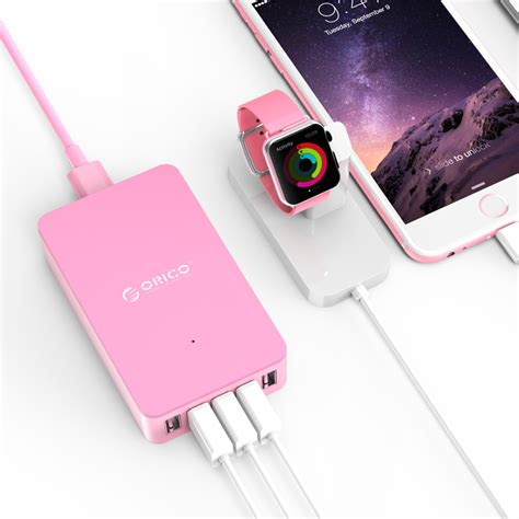Exclusive Orico Usb Wall Travel Charger Hub 5 Port Cse 5u Black orico usb wall travel charger hub 5 port cse 5u pink jakartanotebook