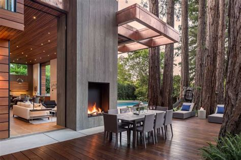 17 best ideas about redwood 15 million marin house with wall of glass brings