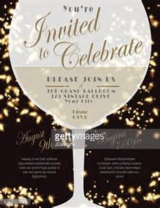 wine invitation template sparkling wine tasting invitation template design lights