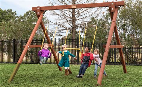 stand alone swings 8 stand alone swingbeam swing sets kids world play ohio
